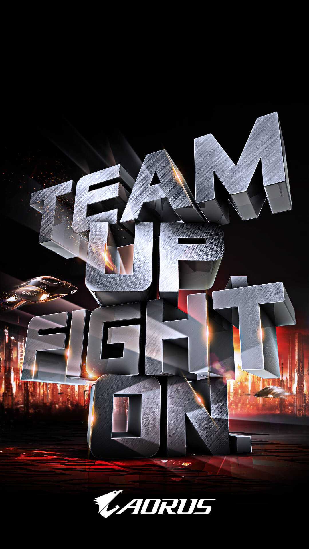 Team Up. Fight On.