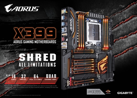 Shred All Limitations-X399 AORUS Gaming 7 Motherboard