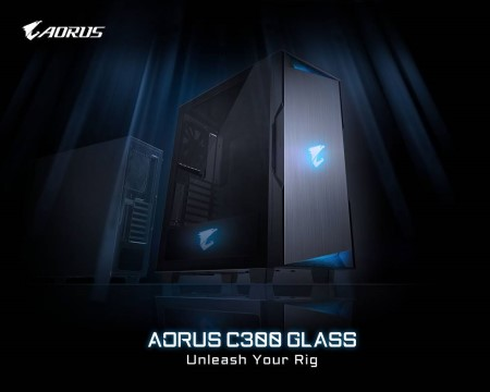 GIGABYTE Releases AORUS C300 GLASS Chassis