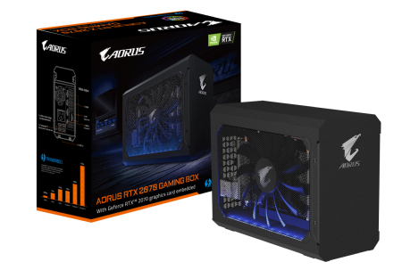 GIGABYTE Releases AORUS RTX 2070 Gaming Box